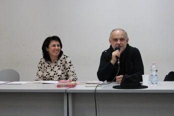 Feri Lainšček visita gli alunni del poilo tecnico