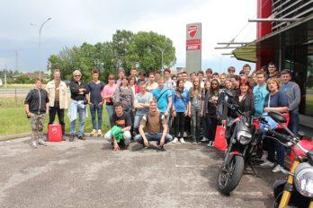 Obisk tovarne motorjev Ducati