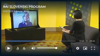 Intervju z Marijo Kostnapfel – oddaja Mikser (RAI)
